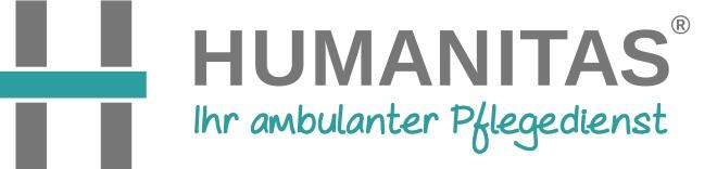Humanitas Pflegedienst Logo und Claim