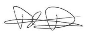 Unterschrift Thomas Pilgrim